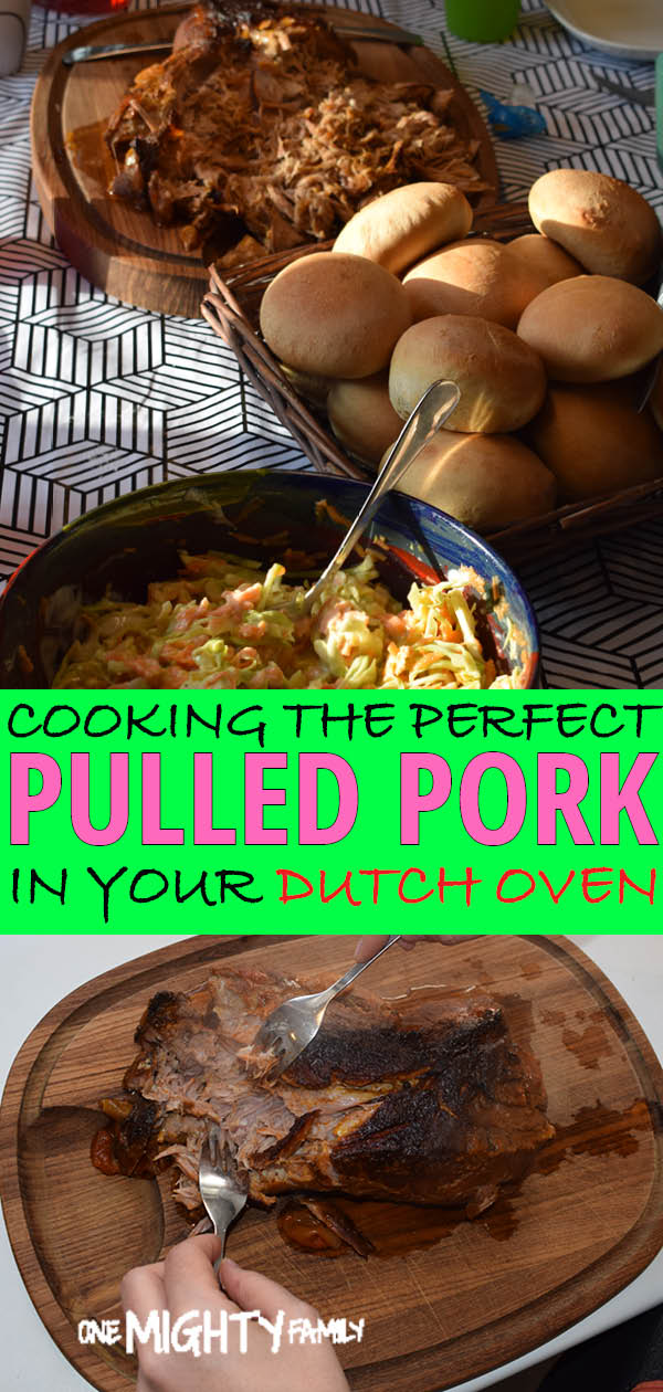 Dutch oven pulled pork picutres