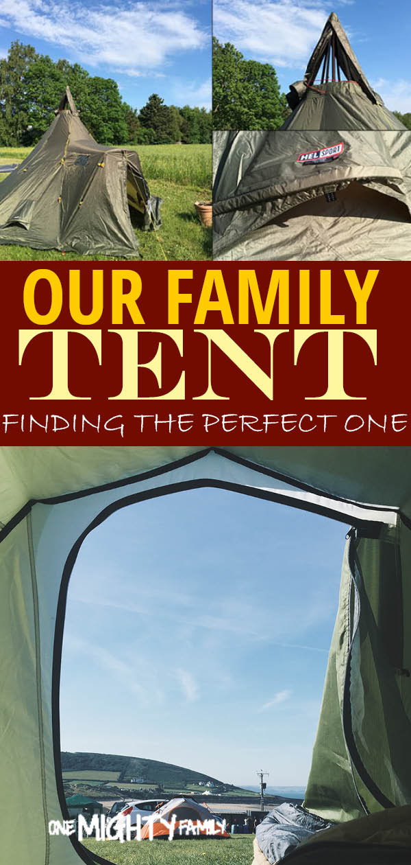 Finding the perfect family tent for a large family - thoughts on buying a new tent
