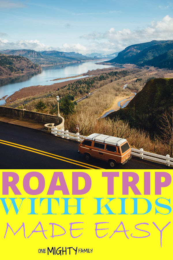 Going on a road trip with your kids is not an easy task, but there are small steps you can take to make your next family vacation more enjoyable. Go outdoors, go on adventures and travel together. #family #roadtrip #adventure #tips #onemightyfamily